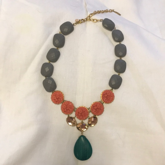 148ef72a6f799d Anthropologie Jewelry | Statement Necklace With Rhinestones | Poshmark